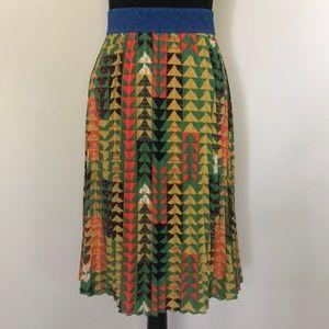 LuLaRoe geometric Jill skirt